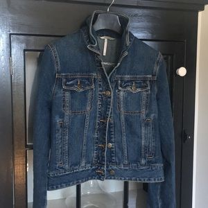 Free people women's xs NWOT denim jacket